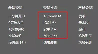 tri拓利外汇平台怎么样【tri拓利评测】