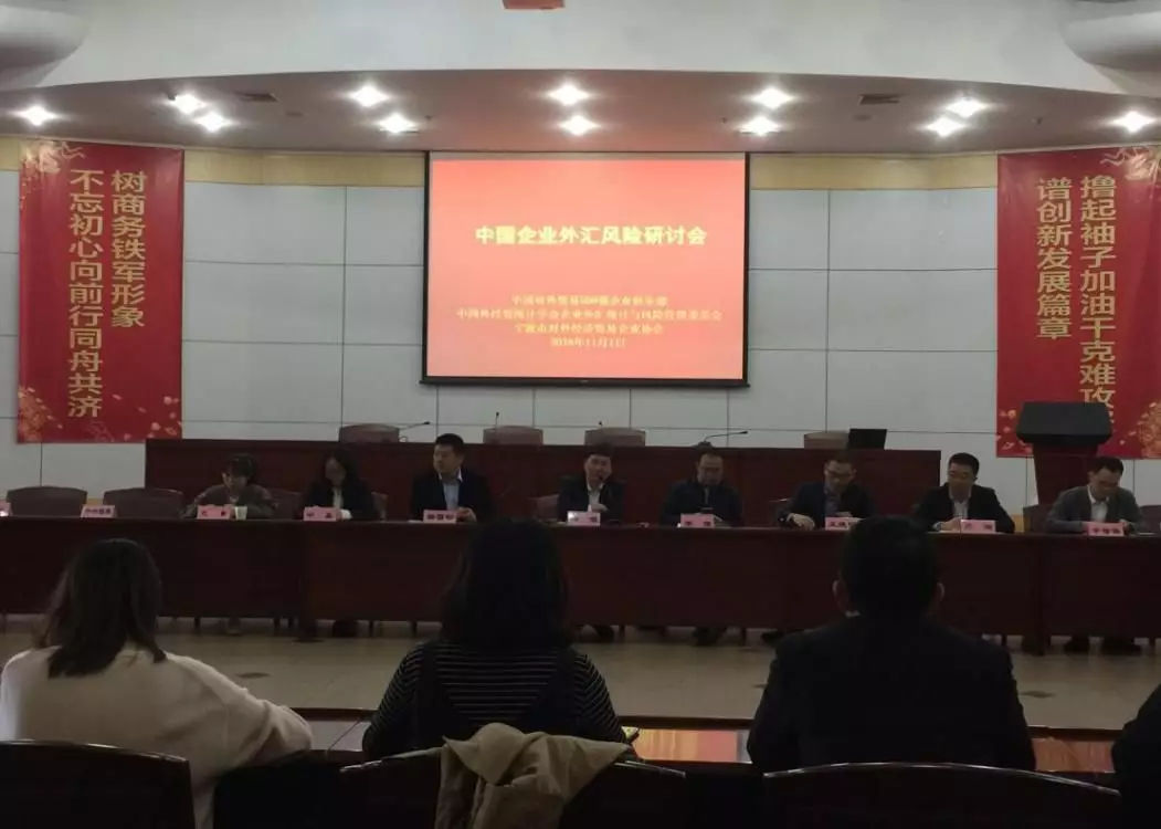 中国企业外汇风险研讨交流会圆满落幕