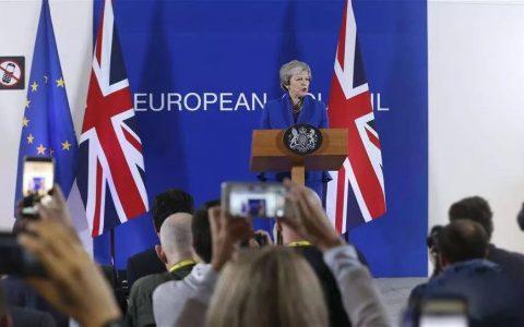 """特蕾莎·梅:""""脱欧""""协议将引领我们进入英国光辉的未来"""