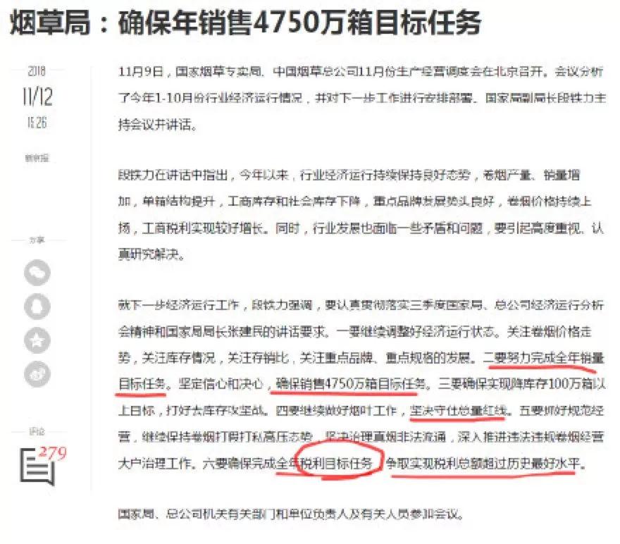 烟草成为中国最赚钱的公司