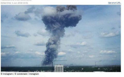 俄罗斯炸药厂爆炸 爆炸事故具体什么情况?